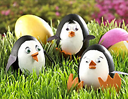 penguin easter eggs