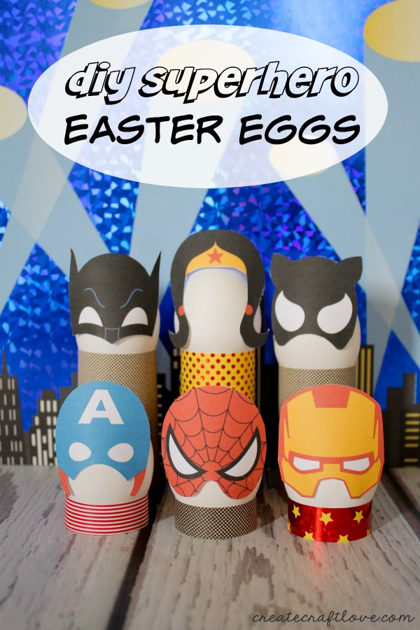 super hero easter eggs
