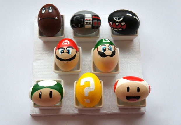 super mario bros easter eggs