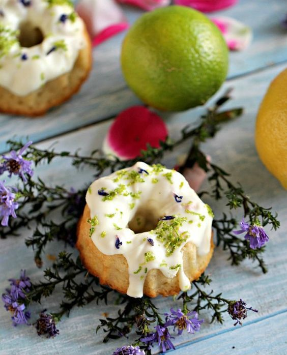 Lemon Lime Donut Flavors