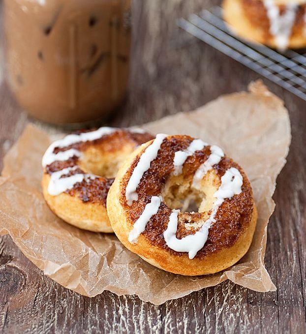 Cinnamon Roll Donut Flavors