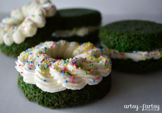Green Velvet Donut Flavors