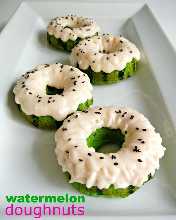 Watermelon Donut Flavors