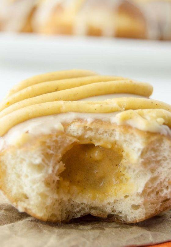 Pumpkin Pie Donut Flavors