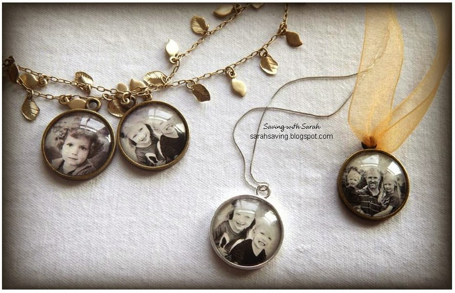 Mother's Day DIY Gift Ideas - Photo Pendant