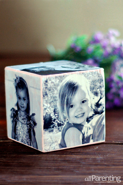 Mother's Day DIY Gift Ideas - Photo Cube