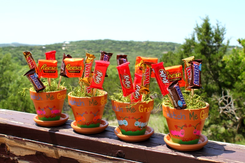 Mother's Day DIY Gift Ideas - Candy Bar Bouquet