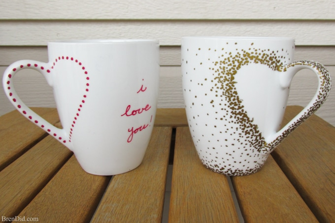 Mother's Day DIY Gift Ideas - Sharpie Mug