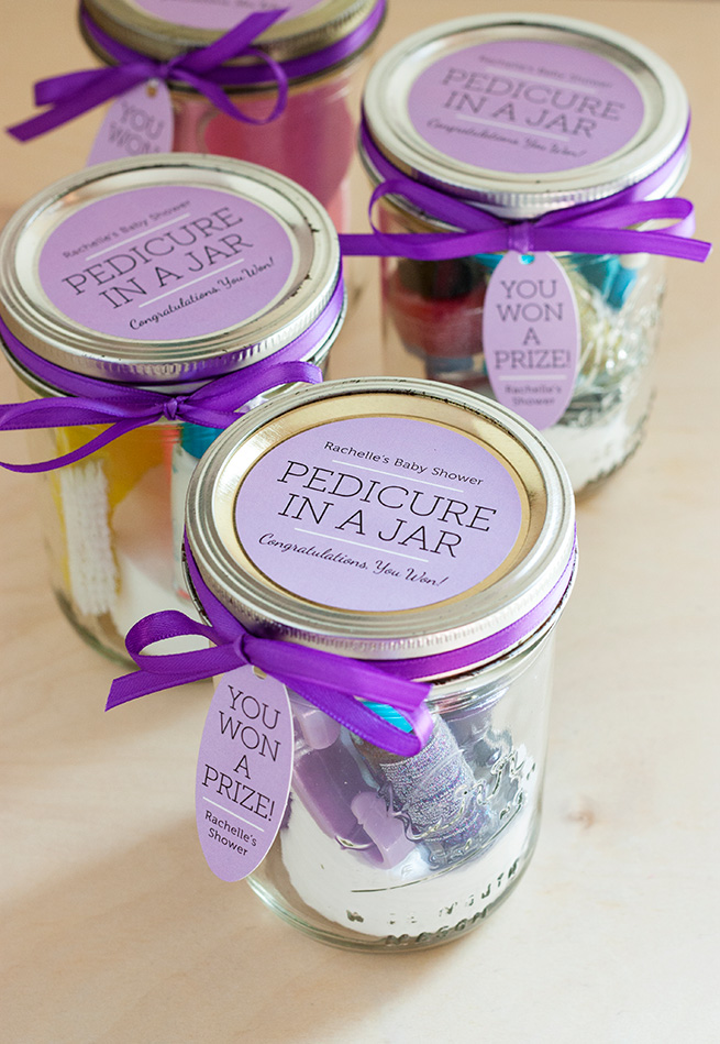 Mother's Day DIY Gift Ideas - Pedicure in a Jar