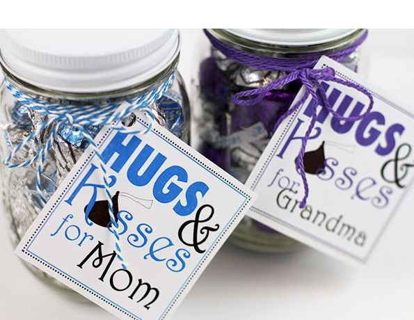 Mother's Day DIY Gift Ideas - Kisses Jar