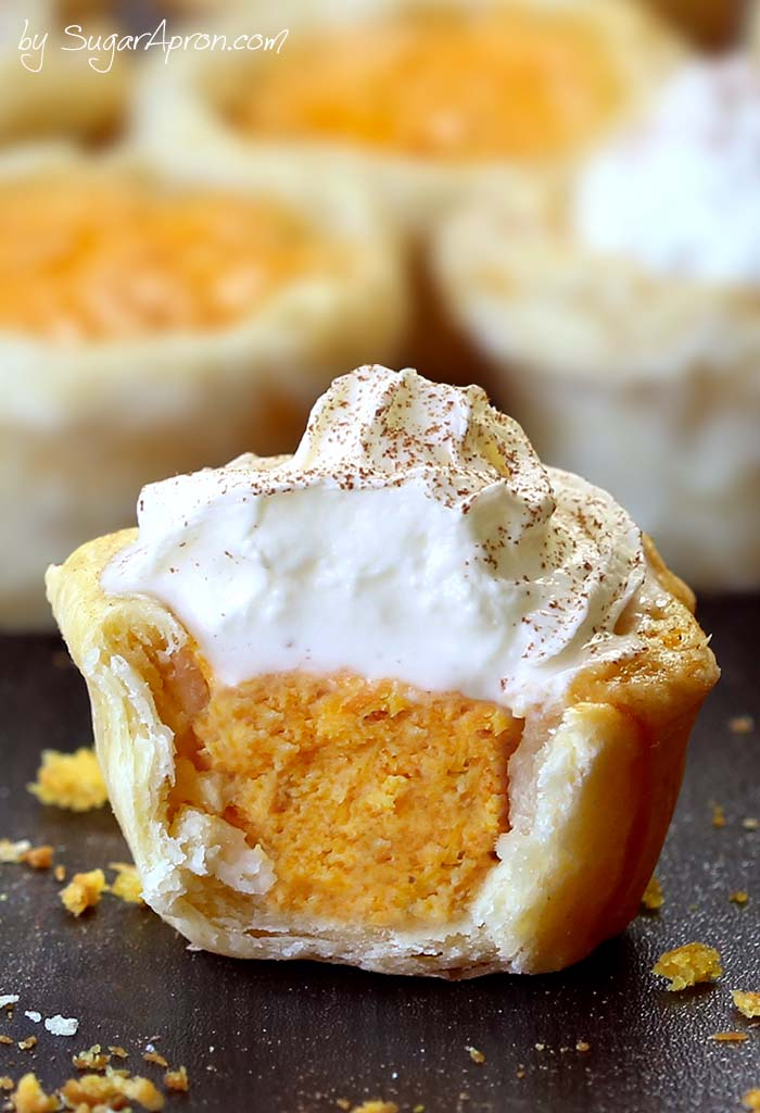 Pumpkin Pie Bites-Best Pumpkin Dessert Recipes