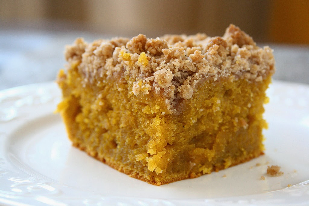 Pumpkin Crumb Coffee Cake -Best Pumpkin Dessert Recipes