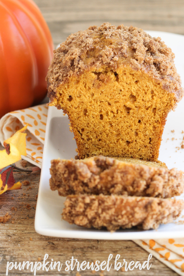 Pumpkin Streusel Bread-Best Pumpkin Dessert Recipes
