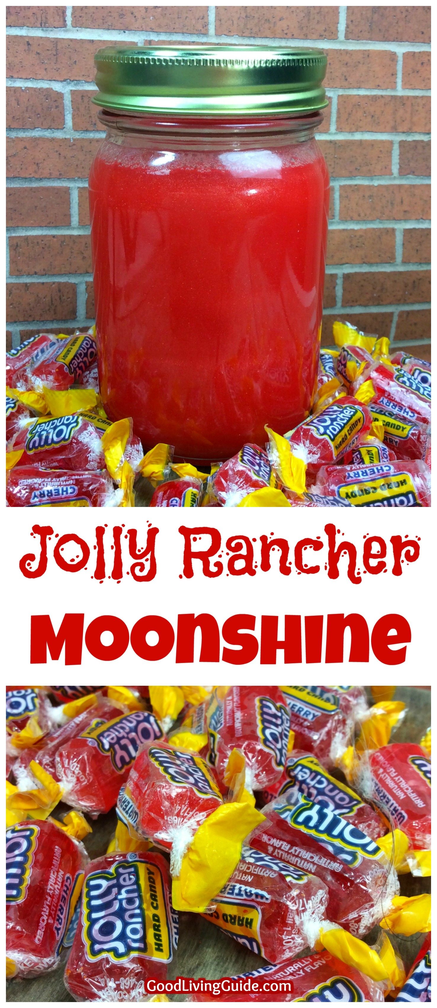 Red Jolly Rancher Moonshine