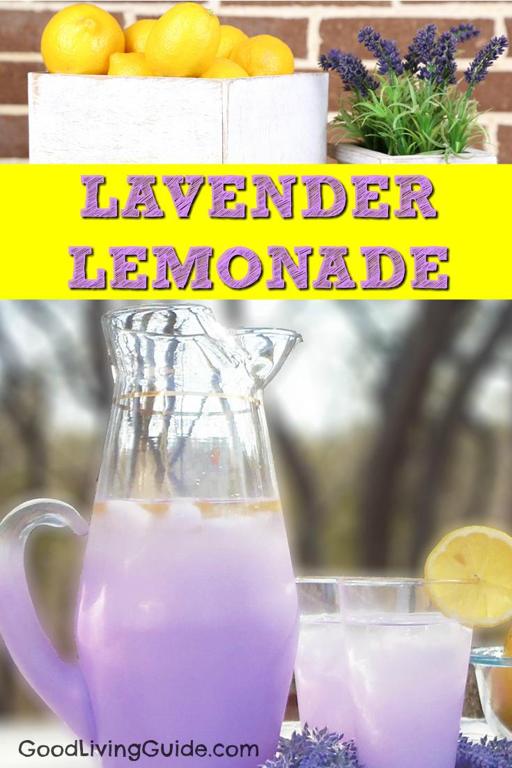 Lavender Lemonade Recipe - Good Living Guide