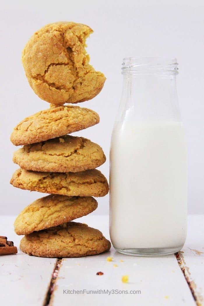 Easy Pumpkin Spice Sugar Cookies