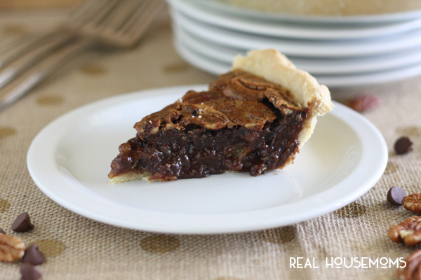 Fudgy Chocolate Pecan Pie