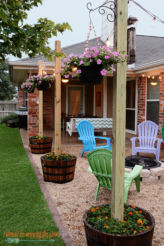 Outdoor Living Ideas - Texas Lamp Posts