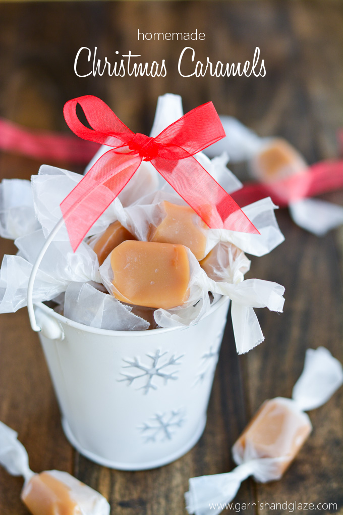 Homemade Christmas Caramels