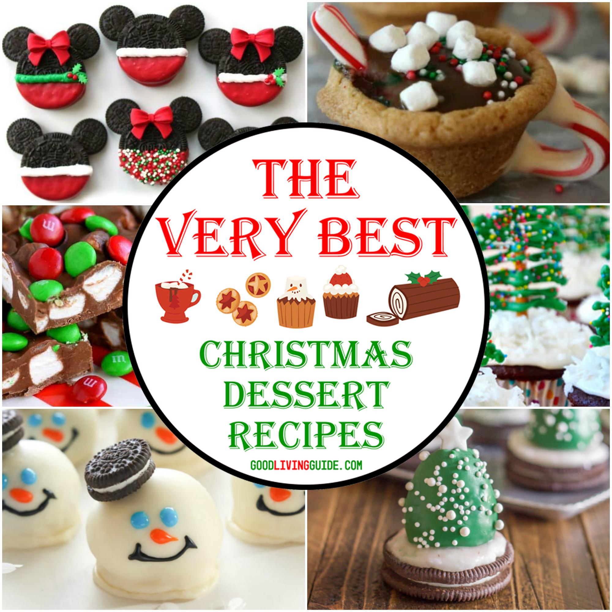 The Very Best Christmas Dessert Recipes