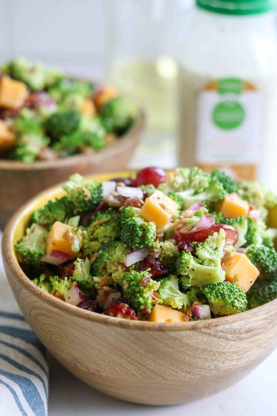 Immunity Boosting Broccoli Salad