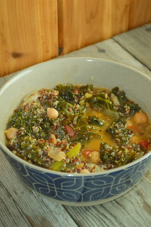 Cold-Fighting Kale Soup