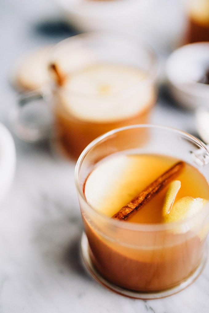 Spiced Apple Cider Hot Toddy