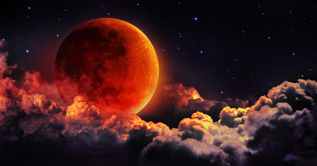 Total Lunar Eclipse Super Blood Wolf Moon