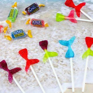 Mermaid Tail Lollipops