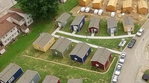 Tiny House Village for Homeless Veterans