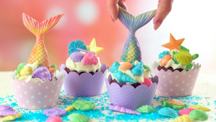 Mermaid Tail Lollipops
