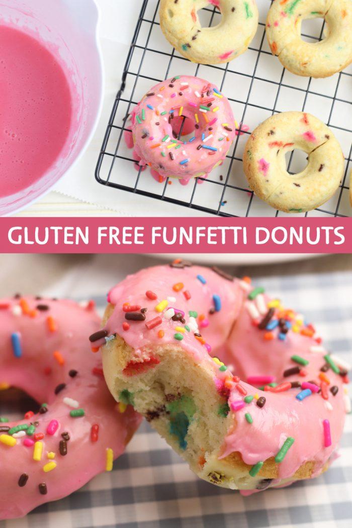 Gluten Free Funfetti Donuts