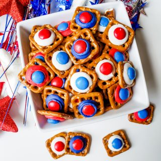 4th of July Pretzel Bites