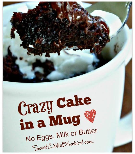 Crazy Cake In A Mug