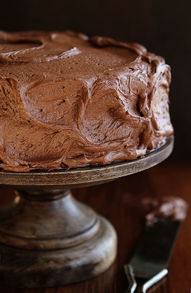 Old School Chocolate Buttercream