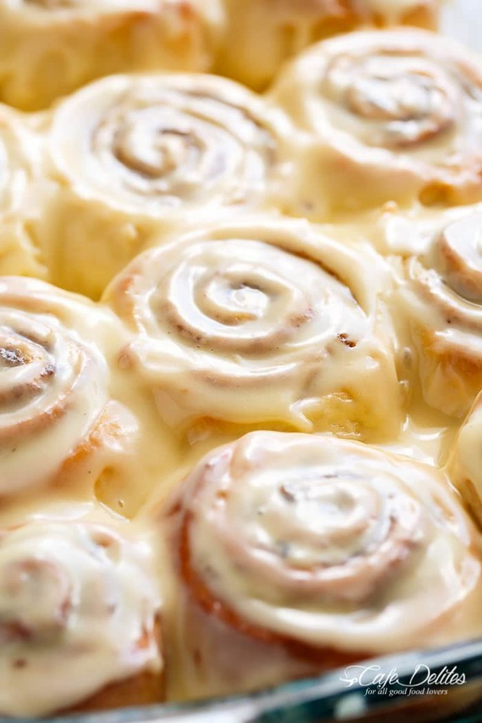 Quick Soft Cinnamon Rolls