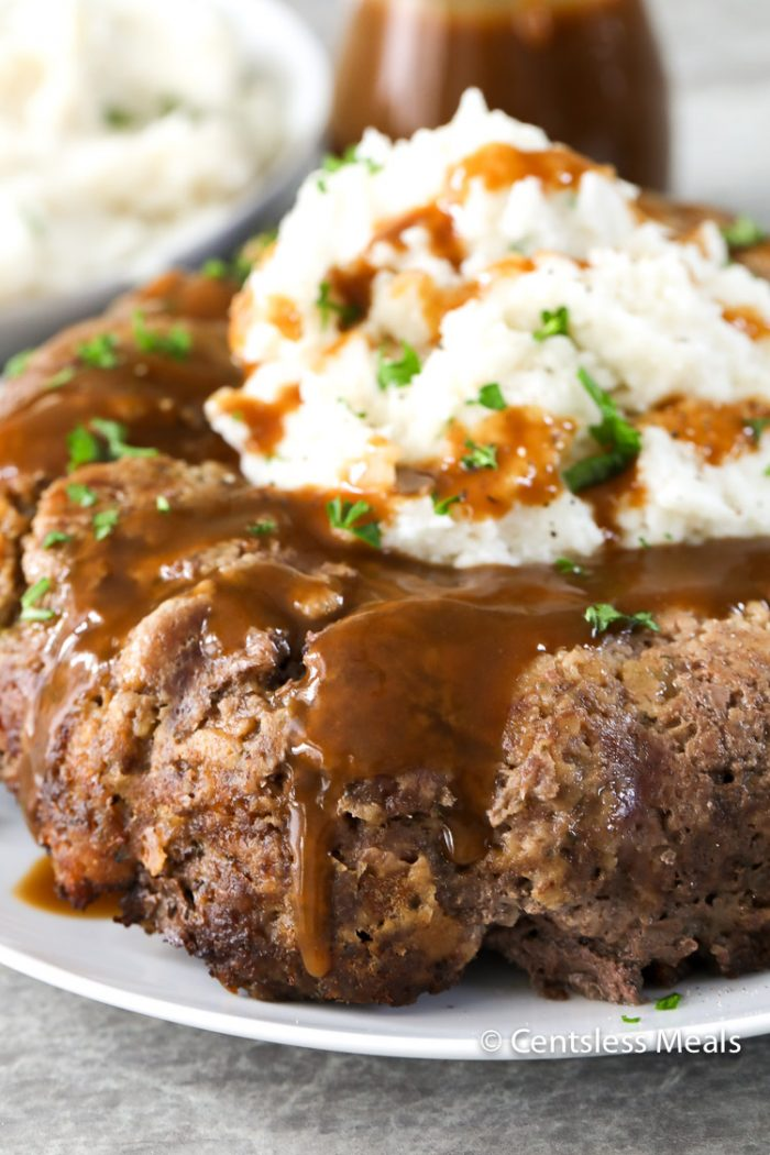 Stovetop Stuffing Meatloaf