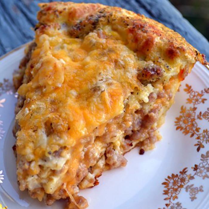 Monterey Sausage Pie