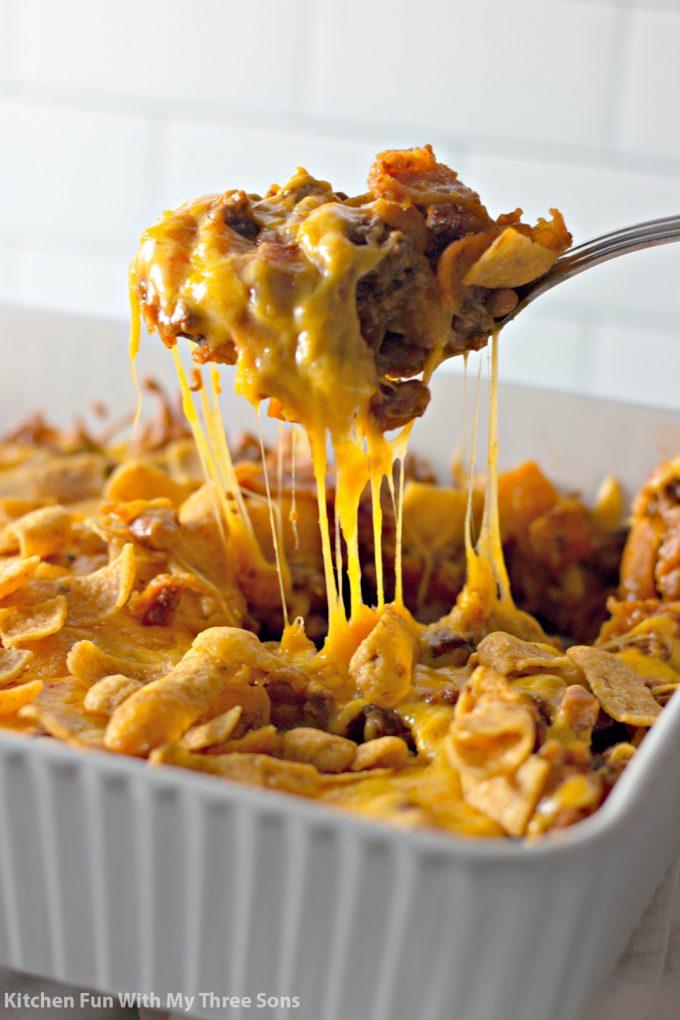 Easy Frito Pie Recipe