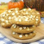 Pumpkin Pudding Cookies