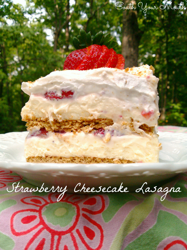 Strawberry Cheesecake Lasagna