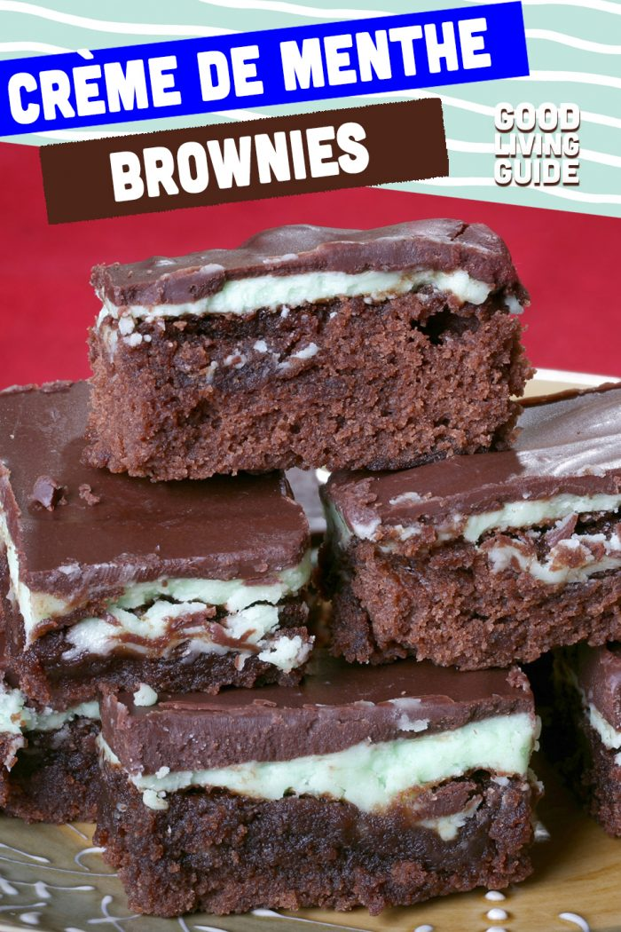 Crème de Menthe Brownies