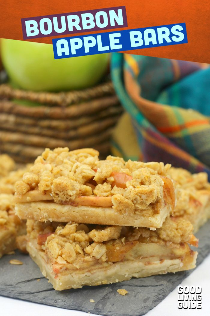 Bourbon Apple Bars