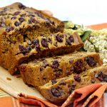 Pumpkin Chocolate Chip Cranberry Bread