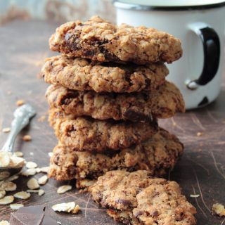 Toll House Oatmeal Chocolate Chip Cookies