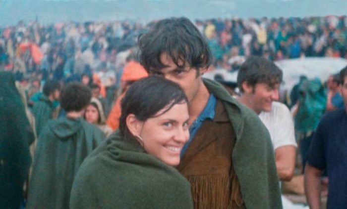 Couple Recreates Iconic Woodstock Photo 50 Years Later