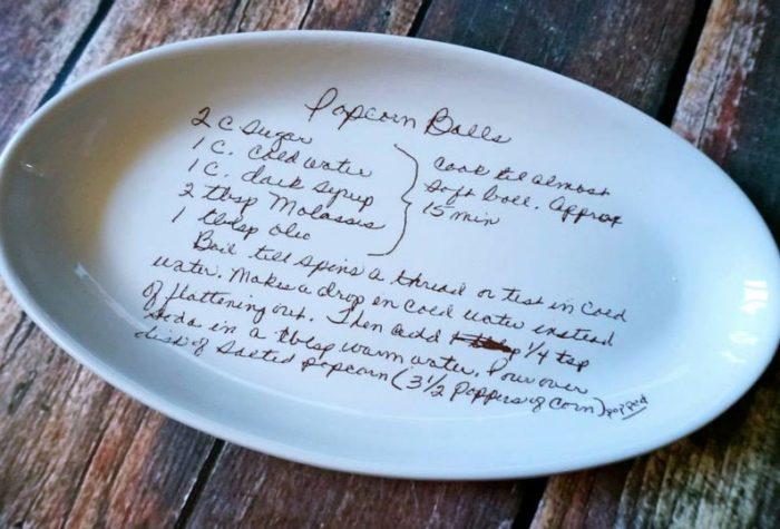 Recipe Plate