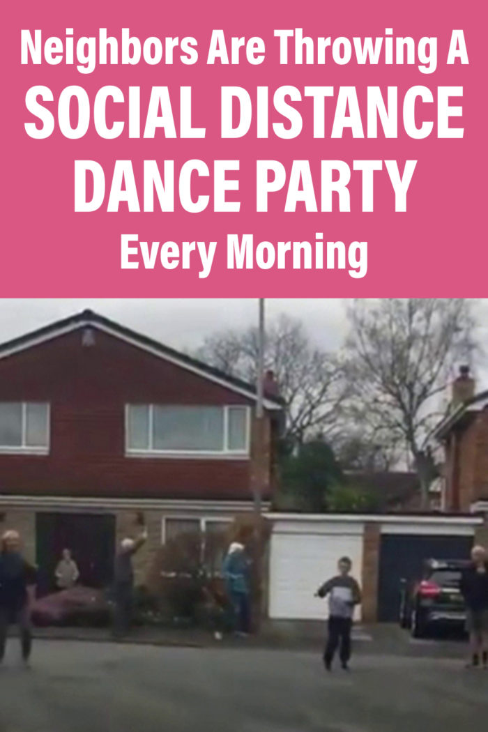 Neighbors Are Throwing A Social Distance Dance Party Every Morning