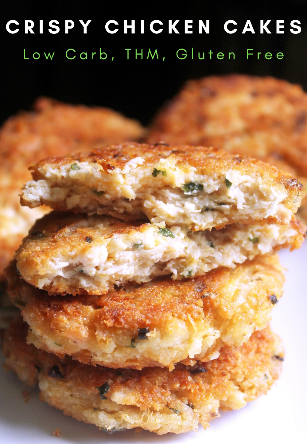 Crispy Chicken Cakes
