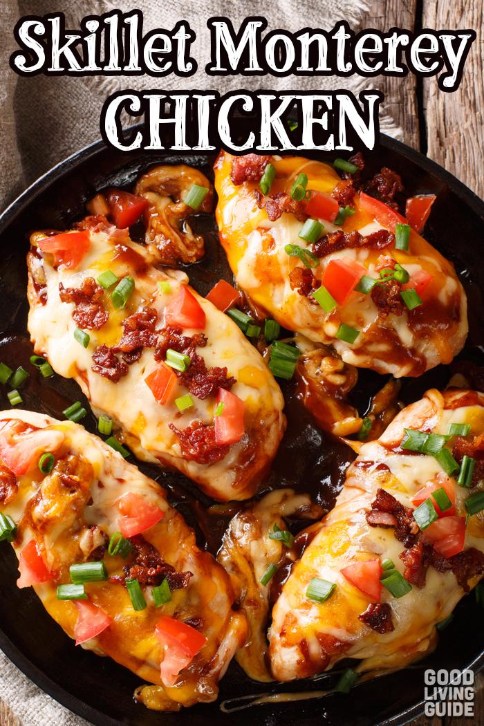 Skillet Monterey Chicken